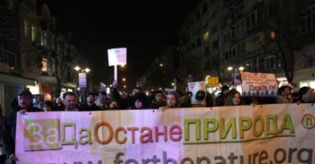 Протест против унищожаването на природата по Черноморието заради неспазени от