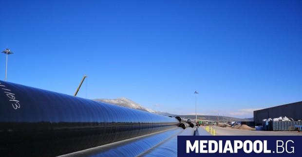 """Строители на транзитното трасе на """"Турски поток"""" в България, които"""