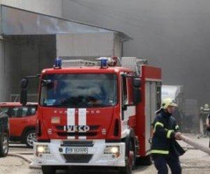 Пожар в жилищна кооперация в Пловдив