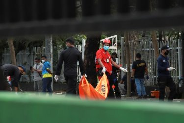 20 души са ранени при самоубийствен атентат срещу църква на Палмова неделя в Индонезия