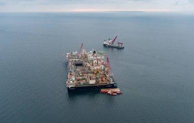 """Строежът на """"Северен поток 2"""" в датски води се възобновява в края на март"""