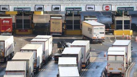 Британският износ към ЕС се е сринал с близо 41% през януари