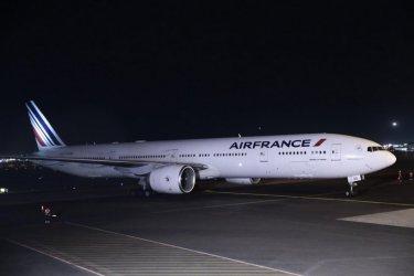 """Самолет на """"Ер Франс"""" кацна аварийно в София заради буйстващ пътник"""