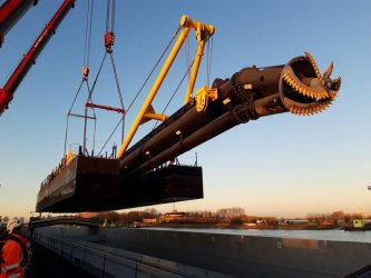 Готов е плавателният съд за драгиране на Дунав
