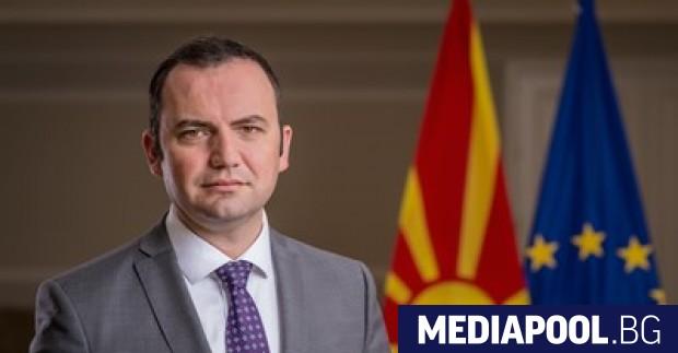 Министърът на външните работи на Република Северна Македония Буяр Османи