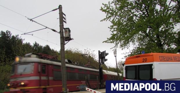 Тежка катастрофа на ЖП прелез край пловдивското село Скутаре. Млада