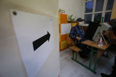 Появи се проблем с машинното гласуване във Велико Търново