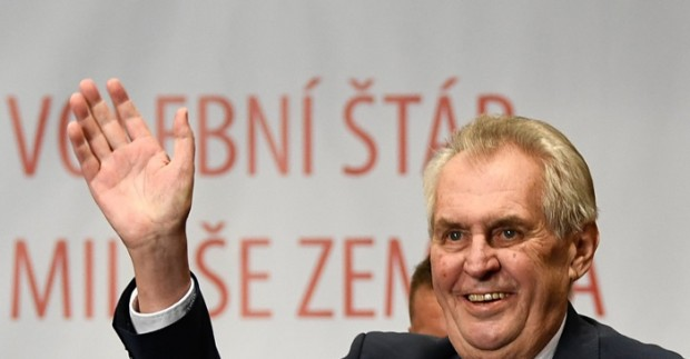 Президентът на Чехия Милош Земан ще се придвижва с инвалидна