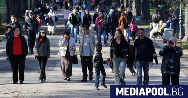 Към 31 декември 2020 г. населението на България е 6