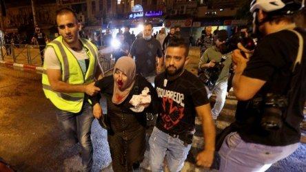Нови сблъсъци в Ерусалим, ранени са 90 палестинци