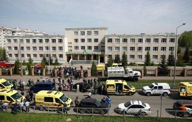 Девет загинали и 21 ранени при стрелба в гимназия в руския град Казан