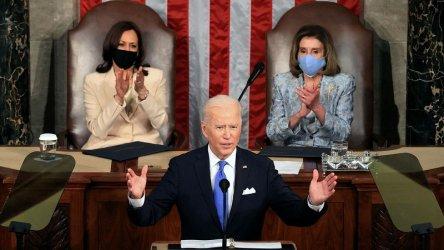 Байдън пред Конгреса: Америка отново тръгва напред