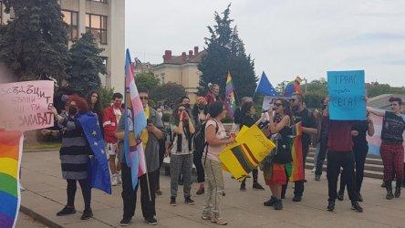 Напрежение в Бургас заради гей парад (видео)