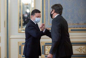 Блинкън потвърди подкрепата на САЩ за териториалната цялост на Украйна