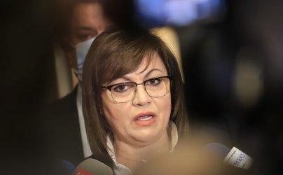Корнелия Нинова: Участието на БСП в служебния кабинет е само Янаки Стоилов