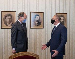 Радев се срещна и с германския посланик