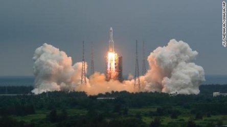 Останките от китайската ракета носител паднаха край Малдивите