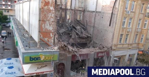 Делото за рухналата сграда на столичната улица