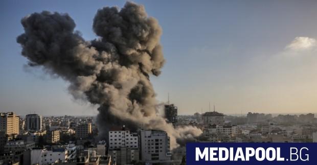 Израелската армия нанесе тази нощ десетки удари в ивицата Газа.