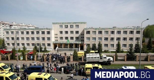 В руската република Татарстан днес погребват деветте жертви при вчерашната