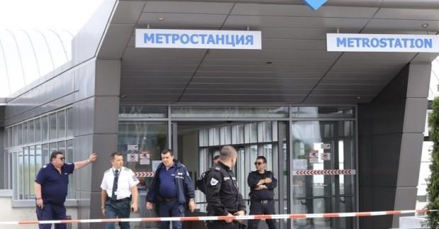Мъж е прострелял жена във вагон на столичното метро и