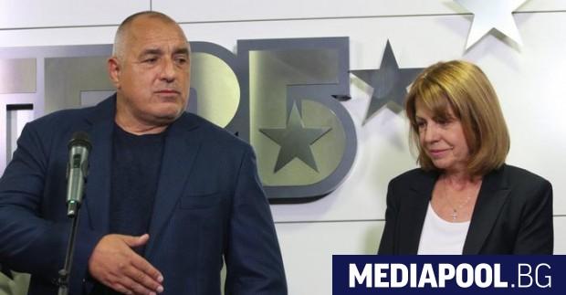 Премиерът в оставка и лидер на ГЕРБ Бойко Борисов намекна,