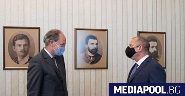 Президентът Румен Радев се срещна в четвъртък с посланика на