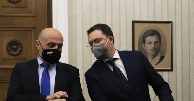 Томислав Дончев и Даниел Митов бяха избрани за зам.-председатели на