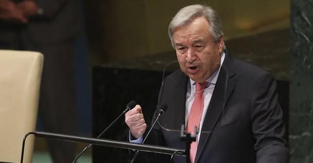 Генералният секретар на ООН Антонио Гутериш призова за незабавно спиране