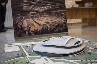 Новата спортна зала на Стара Загора ще наподобява летяща чиния, кацнала в парк
