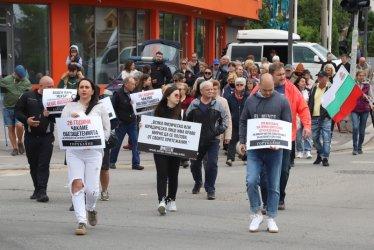 """Жители на """"Горубляне"""" блокираха """"Цариградско шосе"""""""