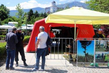 Столичната община разкрива пункт за ваксиниране на открито и в парк