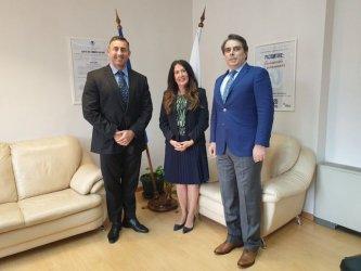 Първо посещение на американски посланик в НАП
