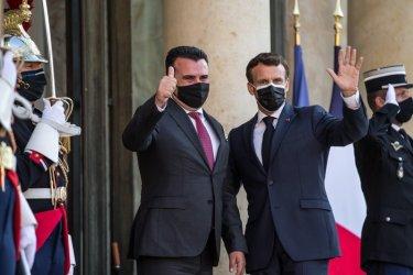 САЩ и Франция смятат, че Скопие трябва да започне преговори с ЕС без отлагане