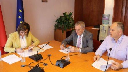 БСП подписа за коалиция с АБВ и партията на Кадиев