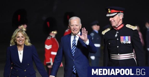 Американският президент Джо Байдън започна първата си международна обиколка за