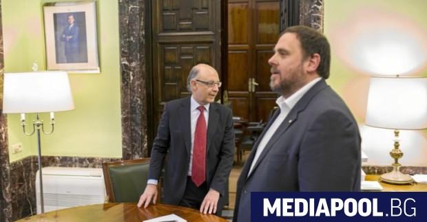 Най-изтъкнатият сред изтърпяващите присъди в затвора каталунски сепаратистки лидери Ориол