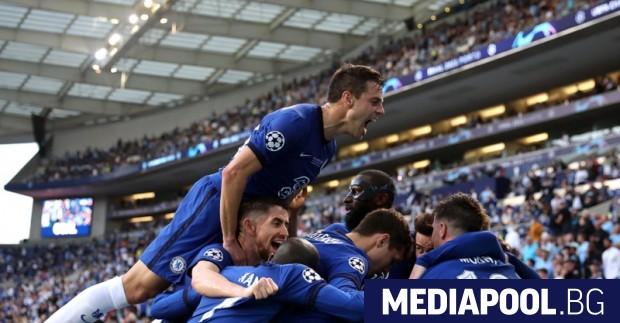 """Лондонският отбор """"Челси"""" победи """"Манчестър Сити"""" с 1:0 и спечели"""