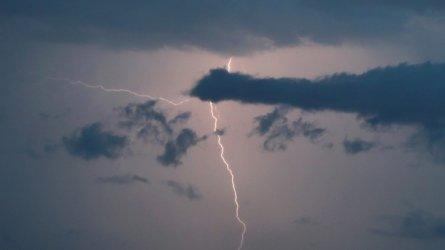 Жълт код за горещо време, за гръмотевични бури и за значителни валежи
