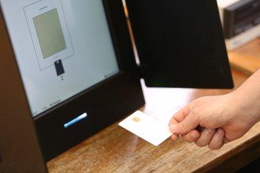 От ЦИК опровергаха съобщенията за спряла машина при гласуването в село Сърница