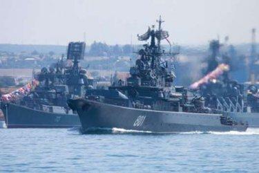 Учебни стрелби на руския флот на фона на маневрите на Украйна и НАТО в Черно море