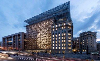 Сградата на Европейския съвет в Брюксел