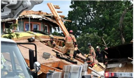 Петима ранени при срутване на сграда във Вашингтон