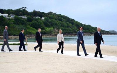 Г-7 подкрепи инфраструктурна инициатива в противовес на Китай