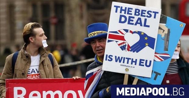 Пет години след разтърсващия референдум за Брекзит, разводът е завършен.