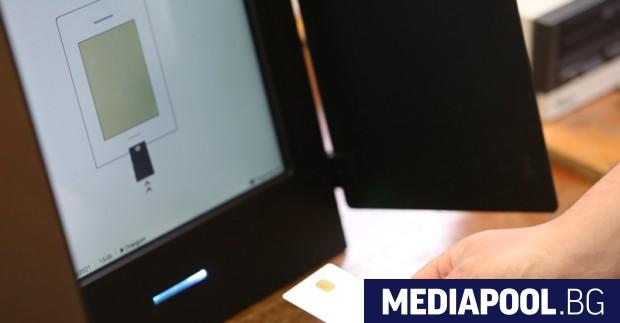 Централната избирателна комисия (ЦИК) поръчва допълнителни 1637 машини за гласуване