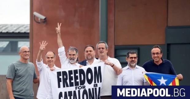 Деветимата лидери на каталунските сепаратисти, които бяха осъдени за ролята