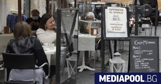 Цяла Италия от днес е бяла зона, без областта Вале
