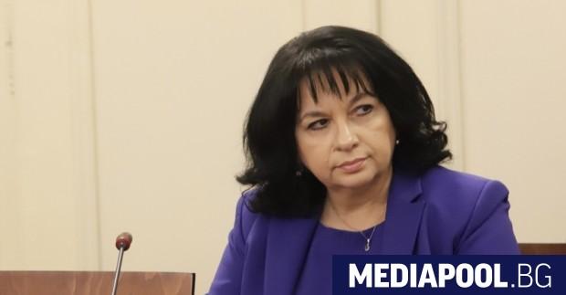 Бившият енергиен министър на ГЕРБ Теменужка Петкова може да бъде