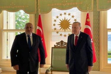 Внезапна среща на Борисов с Ердоган на Босфора преди изборите у нас (видео)